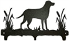 Rustic Wildlife Triple Hook- Lab Retriever Design Style 1
