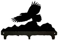 Rustic Wildlife Triple Hook- Eagle Design