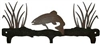 Rustic Wildlife Triple Hook- Trout Design