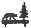 Double Wall Mounted Large Hooks- Bear Design