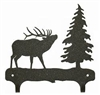 Double Wall Mounted Large Hooks- Elk Design