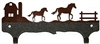 Double Wall Mounted Large Hooks- Horse and Barn Design