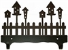 Double Wall Mounted Large Hooks- Birdhouse Design