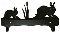 Double Wall Mounted Large Hooks- Rabbit Design