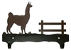 Double Wall Mounted Large Hooks- Llama Design