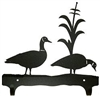 Double Wall Mounted Large Hooks- Geese Design