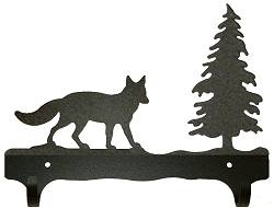Double Wall Mounted Large Hooks- Fox Design