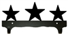 Double Wall Mounted Large Hooks- Star Design