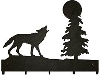 Key/Accessory Holder- Wolf Design