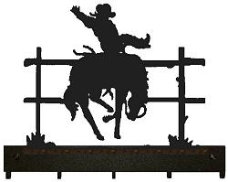 Key/Accessory Holder- Bucking Bronco Design