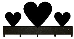 Key/Accessory Holder- Heart Design