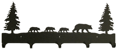 Wildlife Coat Hook- Bear Design