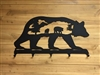 Wildlife Coat Hook- Bear Scenery Design