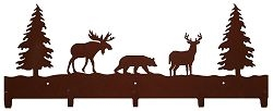 Wildlife Coat Hook- Moose, Bear, Deer Design