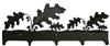 Wildlife Coat Hook- Oak Leaf Design