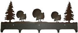 Wildlife Coat Hook- Turkey Design