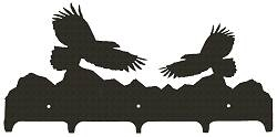 Wildlife Coat Hook- Eagle Design