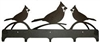 Wildlife Coat Hook- Cardinal Design