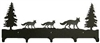 Wildlife Coat Hooks- Fox Design