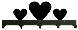 Wildlife Coat Hooks- Heart Design