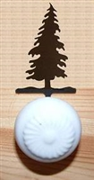 Drawer Knob Backing Plates- Tree Design