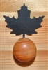 Drawer Knob Backing Plates- Maple Leaf Design