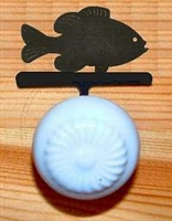 Drawer Knob Backing Plates- Pan Fish Design