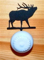 Drawer Knob Backing Plates- Elk Design
