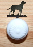 Drawer Knob Backing Plates- Lab Retriever Design