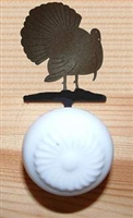 Drawer Knob Backing Plates- Turkey Design