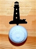 Drawer Knob Backing Plates- Lighthouse Design