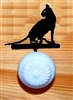Drawer Knob Backing Plates- House Cat Design