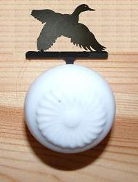 Drawer Knob Backing Plates- Flying Duck Design