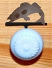 Drawer Knob Backing Plates- Walleye Design