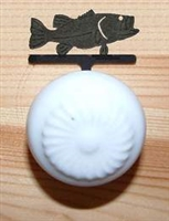 Drawer Knob Backing Plates- Bass Design