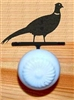 Drawer Knob Backing Plates- Pheasant Design