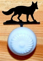 Drawer Knob Backing Plates- Fox Design