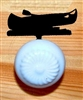 Drawer Knob Backing Plates- Canoe Design