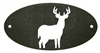 Door Plaque- Deer Design