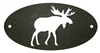 Door Plaque- Moose Design