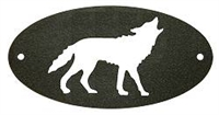Door Plaque- Wolf Design