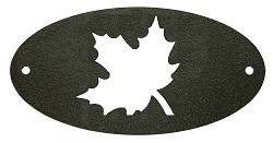 Door Plaque- Maple Leaf Design