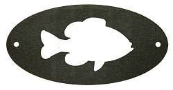 Door Plaque- Pan Fish Design