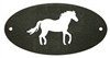 Door Plaque- Horse Design
