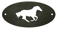 Door Plaque- Galloping Horse Design