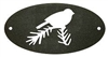 Door Plaque- Chickadee Design