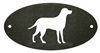 Door Plaque- Lab Retriever Design
