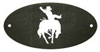 Door Plaque- Bucking Bronco Design