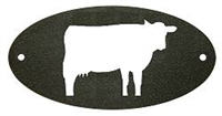 Door Plaque- Cow Design