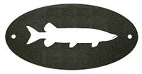 Door Plaque- Muskie Design